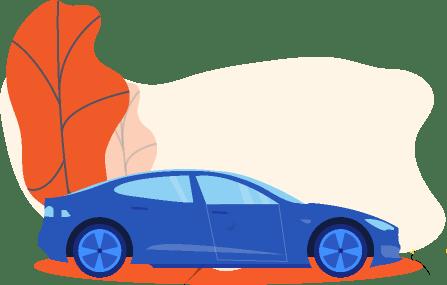 Chave no porta luvas do carro